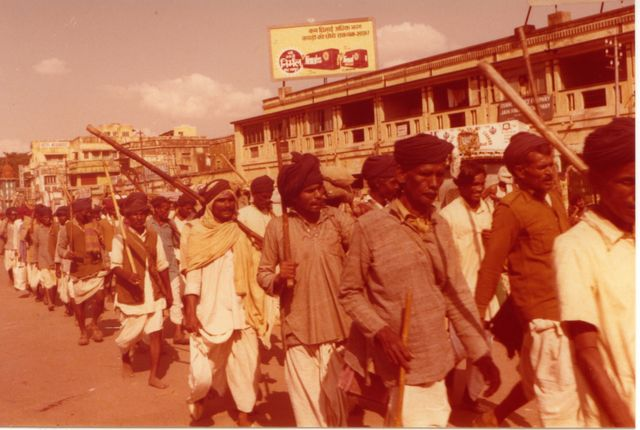 Manif en Inde