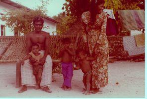 Mon pêcheur et sa famille