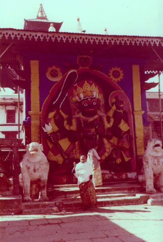 Temple de Kala Bhairava