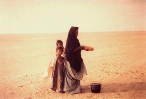 seuls dans le désert