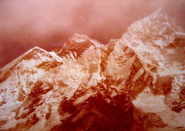 vue sur l'Everest depuis Kalapattar