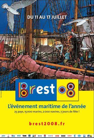 affiche brest 2008
