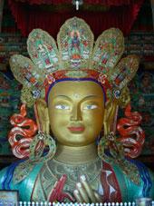 Bouddha à Thiksé