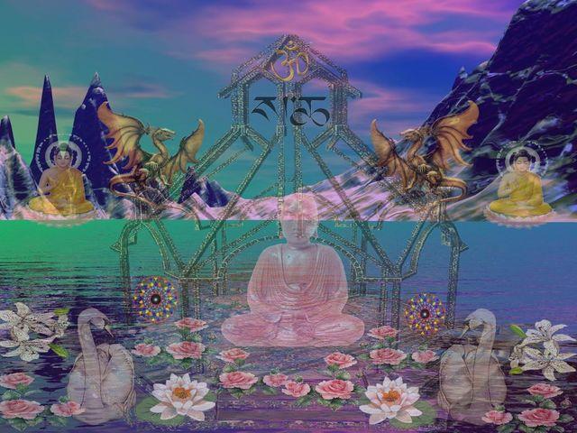 le royaume de Shambhala d'après Mutti