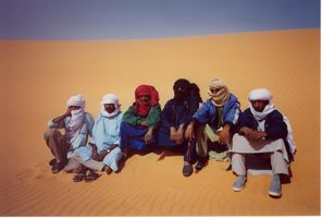 Touareg en Libye