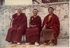 Thuksay Rimpoche , Druckchen Rimpoche et son père