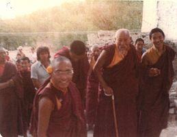 promenade avec les moines