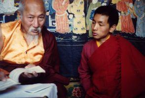 Rimpoche et Tensing