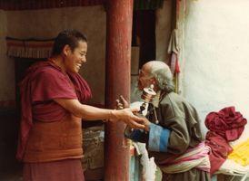moine et ladakhi