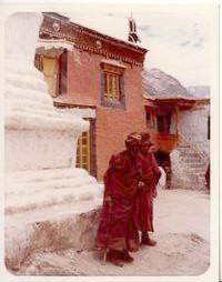 vieux moines à Rangdum