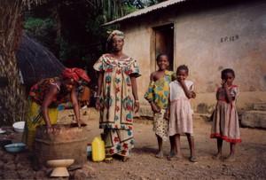 sourires des guinéennes