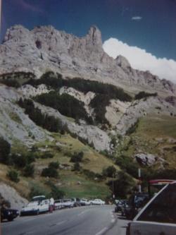falaise de l'Aiguillette du Lauzet