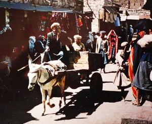 dans le souk de Sanaa
