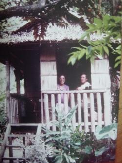 notre case en bambou