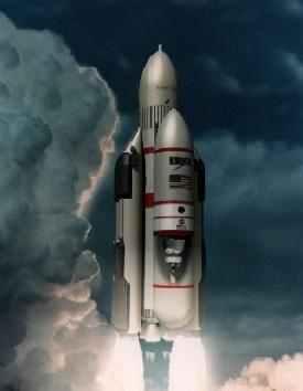 envol de la fusée
