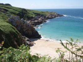 plage sur la côte nord