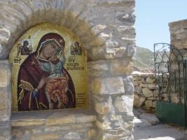 entrée vers le monastère