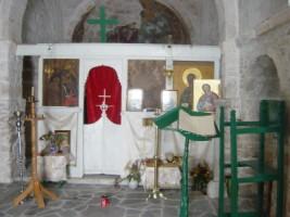 l'intérieur du monastère