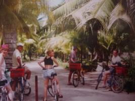 en vélo