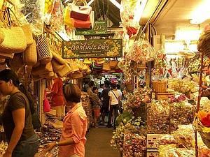 Au royaume du Siam (4/8) Bangkok - week-end market dans THAILANDE 2-7