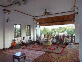 Splendeurs du Laos (26/36) le rite du baci dans LAOS 1152