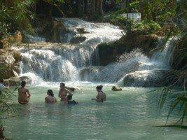 Splendeurs du Laos (18/36) les chutes de Kuangsi dans LAOS 269