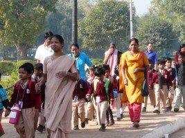 Images du Rajasthan (2) une école rurale dans INDE RAJASTHAN P1070477