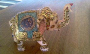 Image du Rajasthan (19) Les éléphants et Ganesh dans INDE RAJASTHAN elephant-2-300x179