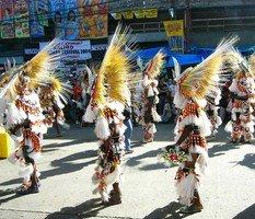 Le carnaval de Kalibo dans l'île de Panay aux Philippines (3/4) dans PHILIPPINES DIVERS ka