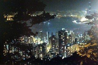 Découverte de  Hong Kong (2/13) le peak, la baie dans CHINE hk-vue2