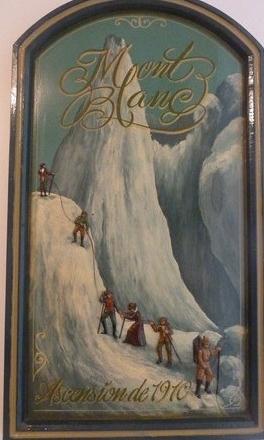 Chamonix et sa vallée (5/17) Marie Paradis et Henriette d'Angeville sur le Mont Blanc dans FRANCE 33
