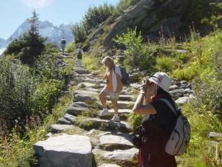 Chamonix et sa vallée (14/17) le Signal Forbes dans FRANCE b-14