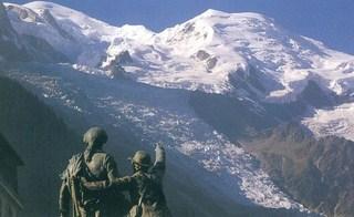 Chamonix et sa vallée (3/17) les premières ascensions du Mont Blanc avec Balmat et le Dr Paccard dans FRANCE balm