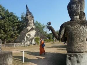Bouddha park au Laos dans LAOS 216-300x225