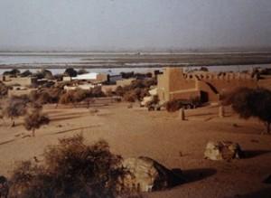 Mali, ma traversée du nord au sud (8/12) nuit au fort de Bourem dans MALI p1140645-300x219