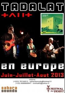 Mali, ma traversée du  nord au sud  (5bis) un groupe de musique touarègue originaire d'Aguelhoc