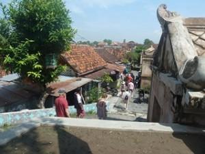 A Java et Bali (10/41) Yogyakarta ruelles de Taman Sari dans INDONESIE 4-34-300x225