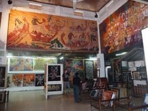 A Java et Bali (8/41) visite usine de batiks dans INDONESIE 4-5-300x225