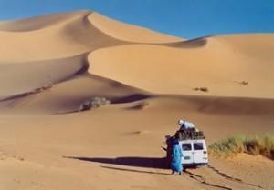 Photo couverture paisible était chant des dunes de Michèle Bec